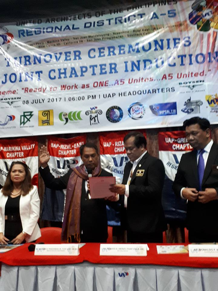 07.08.17 | UAP Regional District A5 Joint Induction