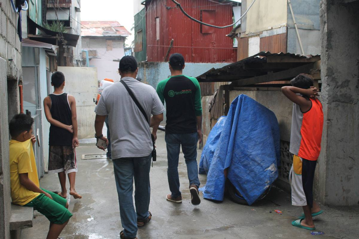 08.19.17 | UAP Marikina Valley Architects Clean up Drive and Misting Operation