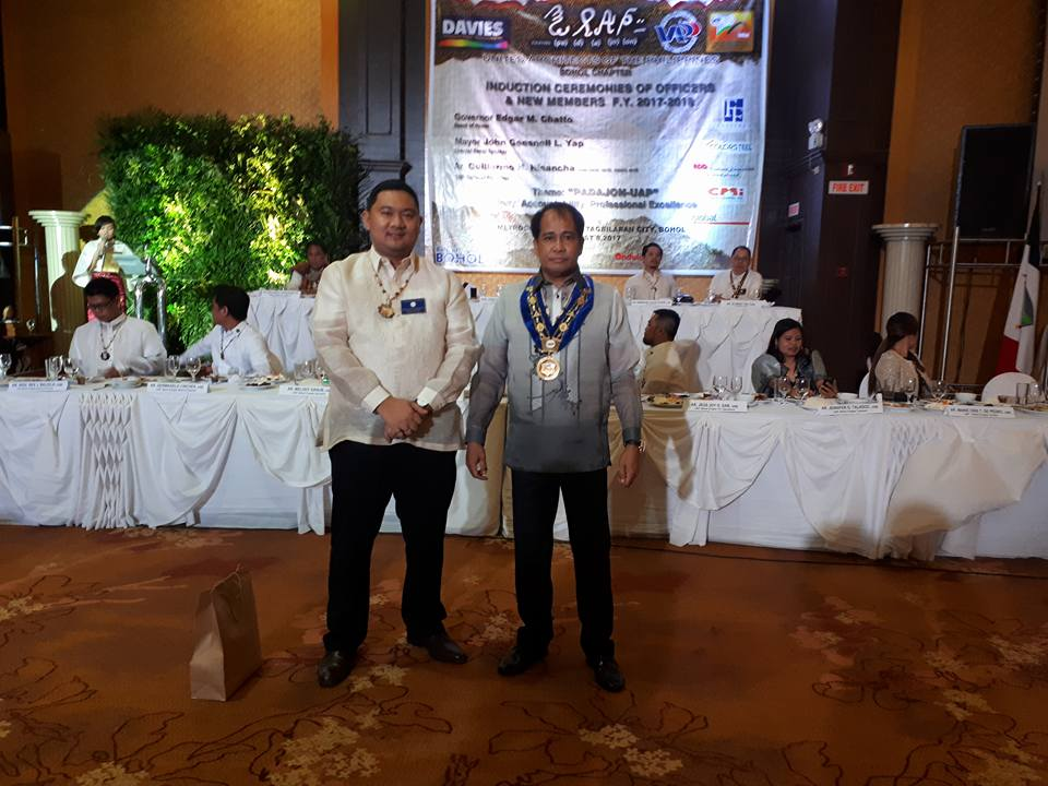 08.08.17 | UAP Bohol Chapter Induction