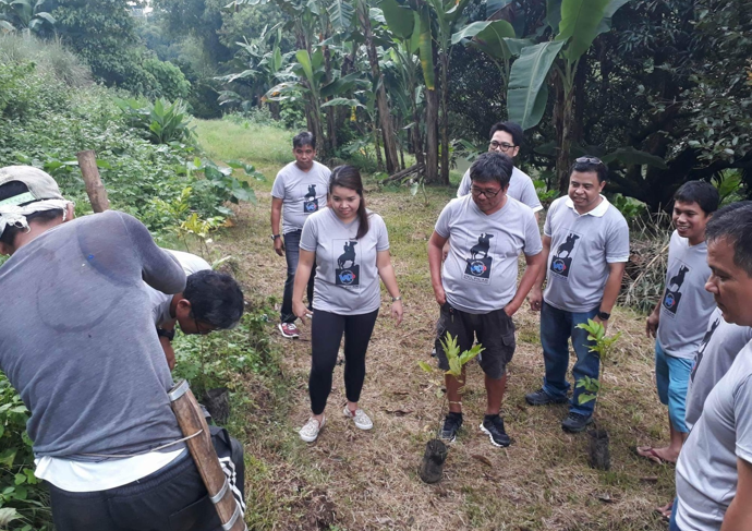 """UAP Del Pilar Chapter-Bulacan Tree Planting dubbed as """"CARES"""""""