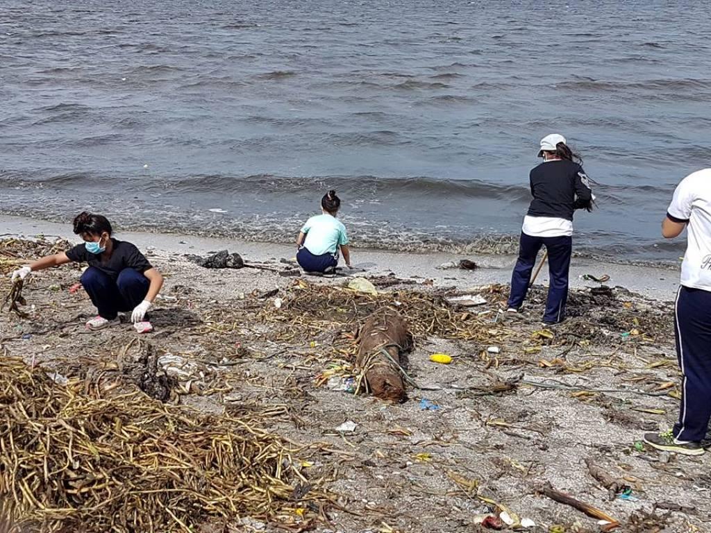 UAP Las Piñas Chapter Coastal Cleanup Drive